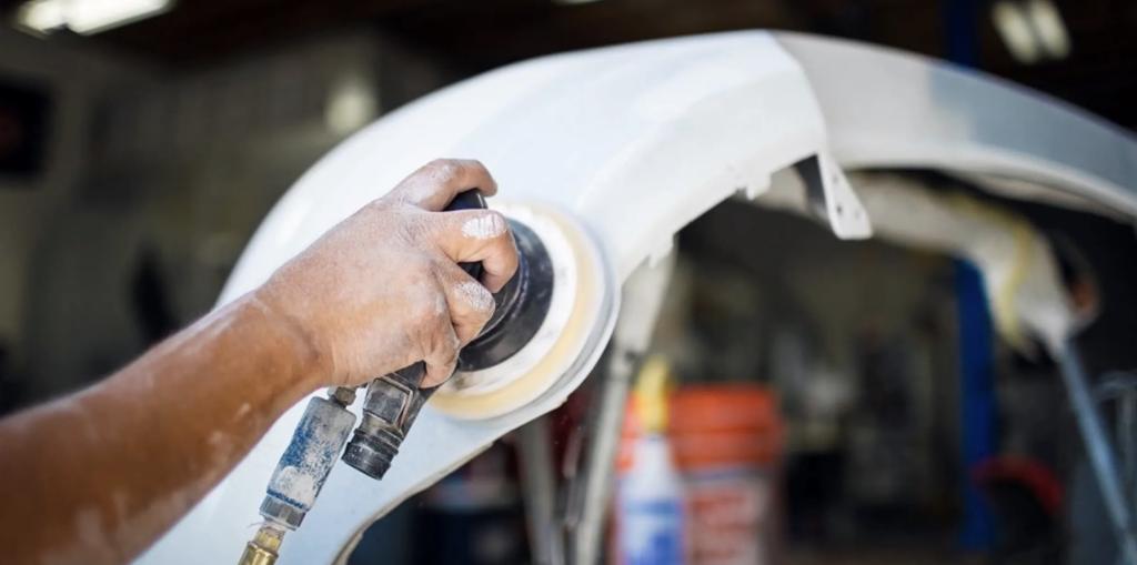 Auto Body Shop Bumper Repair